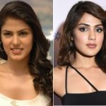 Rhea Chakraborty Plastic Surgery Before and After